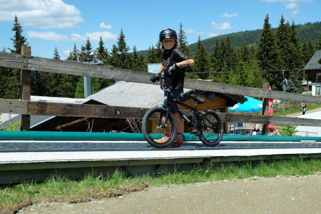 Biken Gerlitzen - Kinder Bike Park Gerlitzen